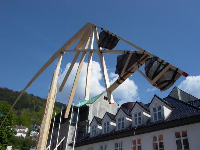 svævende pind - modvægt, Bergen 2012